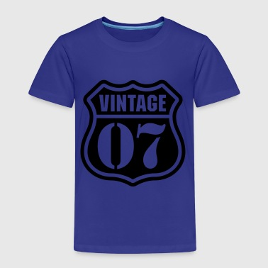 1907 Vintage 07 Long Sleeve Shirts - Kids' Premium T-Shirt
