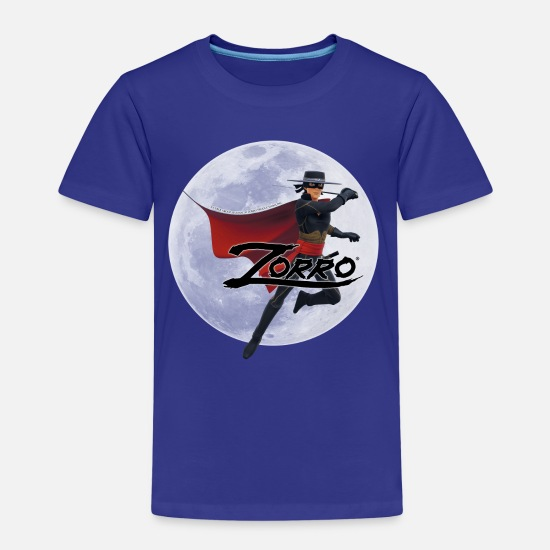 Zorroclassic T-Shirts - Zorro The Chronicles At Full Moon - Kids' Premium T-Shirt royal blue