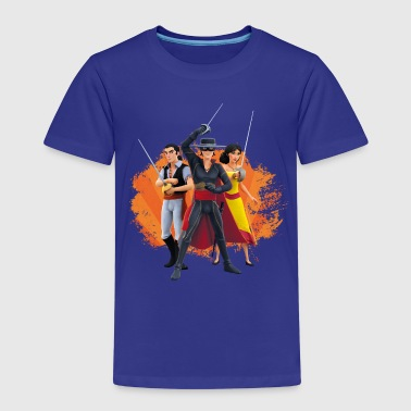Zorro The Chronicles Ines Bernardo Don Diego - Premium T-skjorte for barn