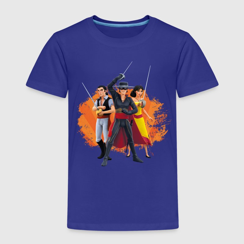 Zorro The Chronicles Ines Bernardo Don Diego - Premium-T-shirt barn