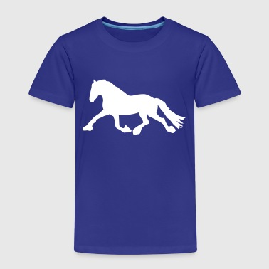 Cheval de course - T-shirt Premium Enfant