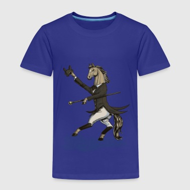 Horse Dressage Dancer - Kids' Premium T-Shirt
