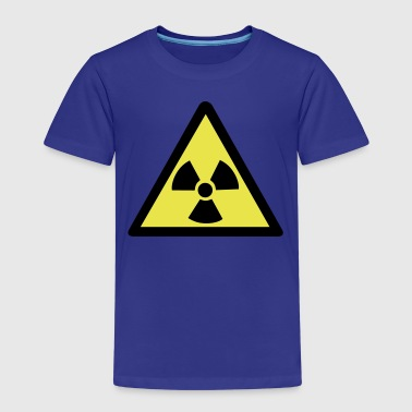 Radioactive Warning Symbol - Kids' Premium T-Shirt