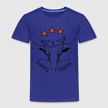 swingfoxies - Kinder Premium T-Shirt