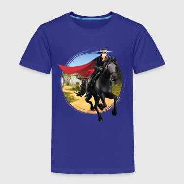 Zorro The Chronicles Riding Horse Tornado - Premium-T-shirt barn