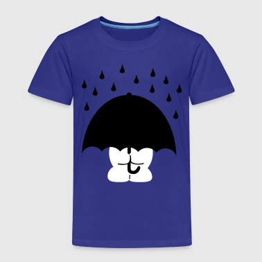 umbrella paraply - Børne premium T-shirt