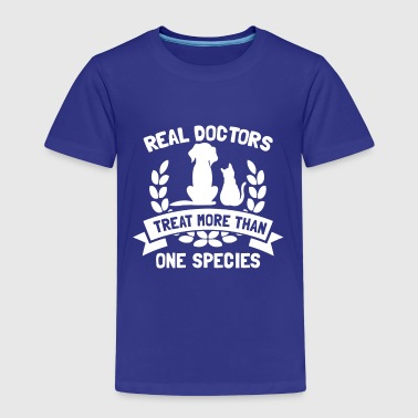 Real Doctors Treat More Than One Species - Koszulka dziecięca Premium