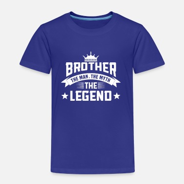 Legend Brother the Man the Myth the Legend - Camiseta premium niño