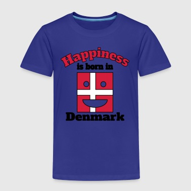 Happiness is born in Denmark - Kids' Premium T-Shirt