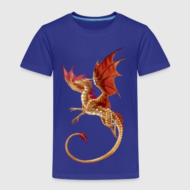 Golden dragon - Premium-T-shirt barn