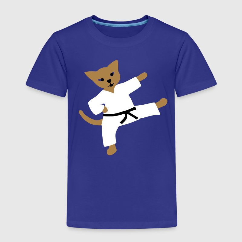 taekwondo cat - Kids' Premium T-Shirt