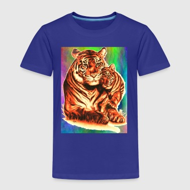 Tiger and Cub - Kids' Premium T-Shirt