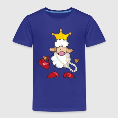 Little Queen Little Queen of the Sheep - Kids' Premium T-Shirt
