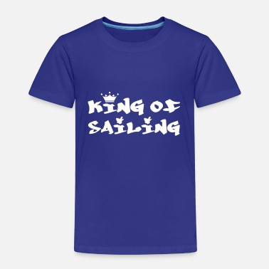 Sailing King of Sailing - Kinderen Premium T-shirt