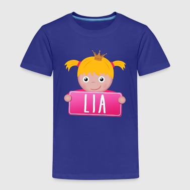 Lia Little Princess Lia - Kinderen Premium T-shirt