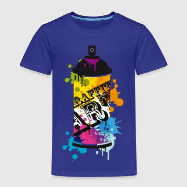A spray can in graffiti style  - Kids' Premium T-Shirt