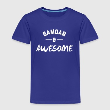 Samoan and Awesome - Kids' Premium T-Shirt