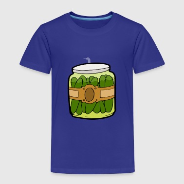 Pickles pickle jar - Kids' Premium T-Shirt