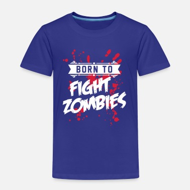 Be Kind Born to fight Zombies - Halloween - Baby - Kind - Koszulka dziecięca Premium