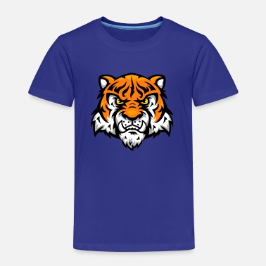 Comic Tiger tiger comic - Kinder Premium T-Shirt