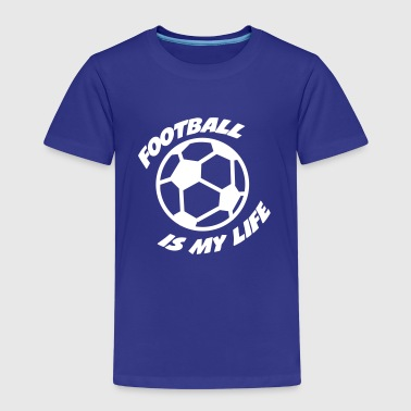 Football - Premium-T-shirt barn