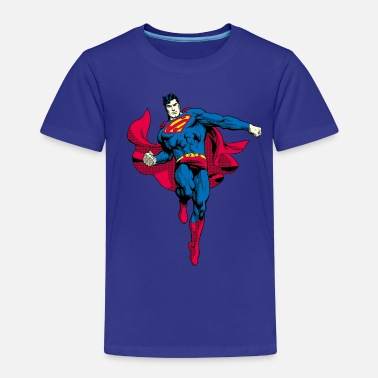 Clark Kent Superman Pose Teenager T-Shirt - Børne premium T-shirt
