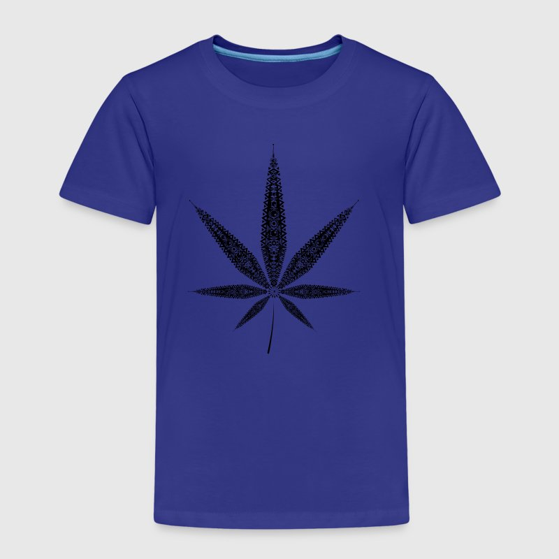 Feuille de chanvre - Cannabis - T-shirt Premium Enfant
