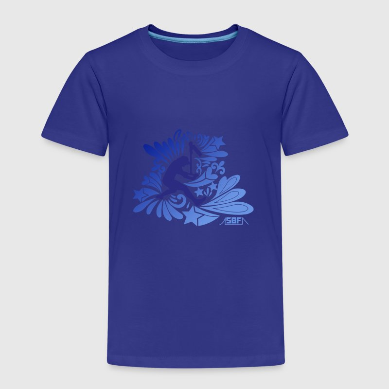 Flower Power Trottinette - T-shirt Premium Enfant