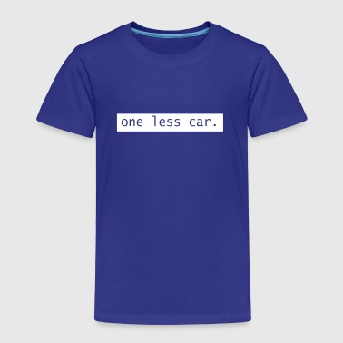 One Less Car - Kids' Premium T-Shirt