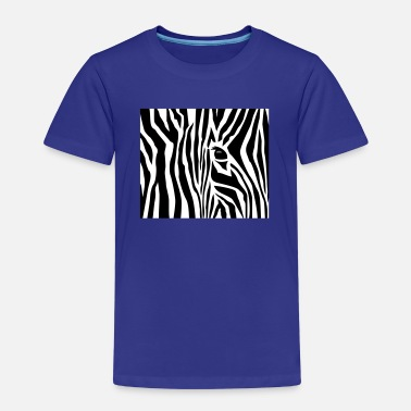 Zebra Stripes Zebrastreifen / zebra stripes (3c) - Kinder Premium T-Shirt