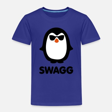 Swag Swagg SWAGG pinguin - Kids' Premium T-Shirt