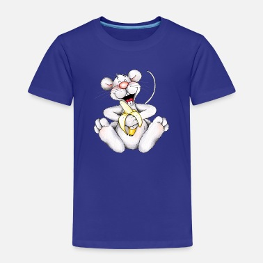 Porridge The MoMouse like bananas - Kids' Premium T-Shirt