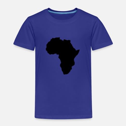 Shape Of Africa Map.Map World Shape Of Africa Kids Premium T Shirt Spreadshirt