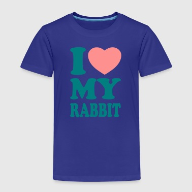I love my rabbit - Kids' Premium T-Shirt