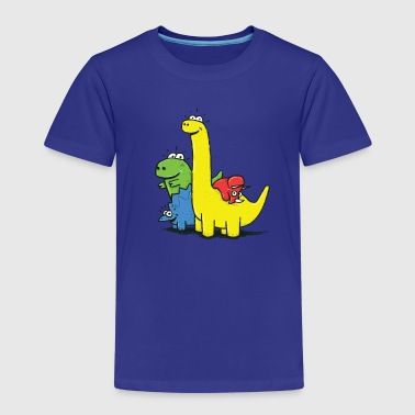 Dino Gang, Colored - T-shirt Premium Enfant