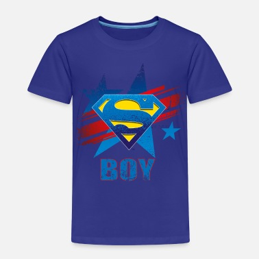 Dad Superman Superman S-Shield Dad Kid's T-Shirt - Kinderen Premium T-shirt
