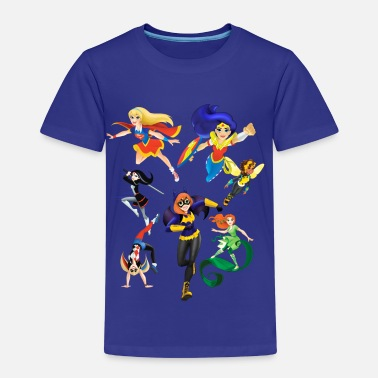 Poison Ivy DC Super Hero Girls Super-Héroïnes Attaque - T-shirt Premium Enfant