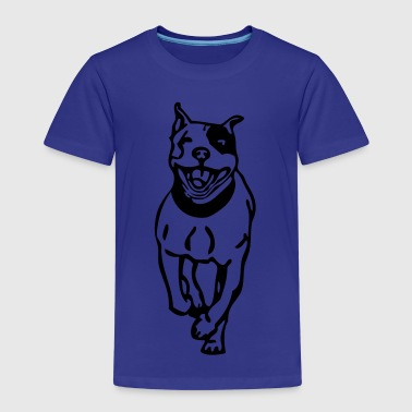 Staffy Dog bujusbt01 - Kids' Premium T-Shirt