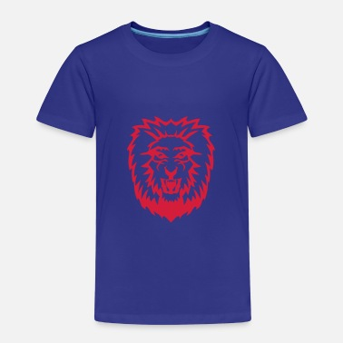 Tete De Lion lion tete animal 2909 - T-shirt Premium Enfant