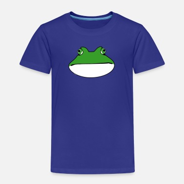 Wide Mouth Frog frog - Kids' Premium T-Shirt