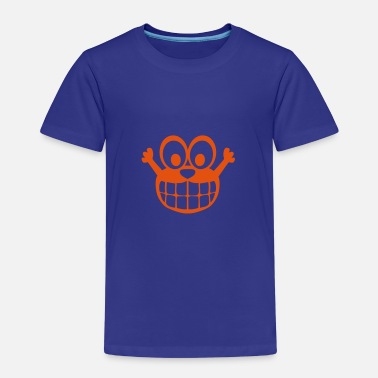 Comic-figur glücklich Smiley Comic-Figur - Kinder Premium T-Shirt