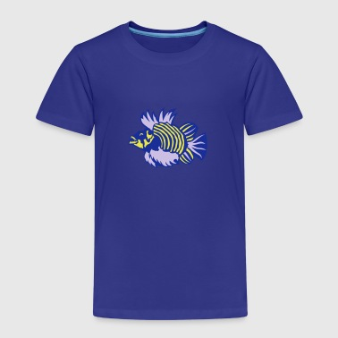 Fisch Cartoon fisch exotische cartoon boesewich - Kinder Premium T-Shirt