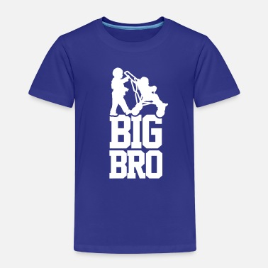 Bror Big Bro - Premium T-skjorte for barn