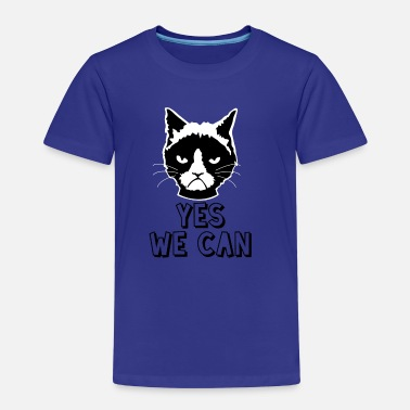 Yes We Can Yes we can / cat - Kids' Premium T-Shirt