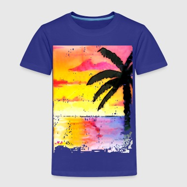 Miami Beach Palm - Kids' Premium T-Shirt