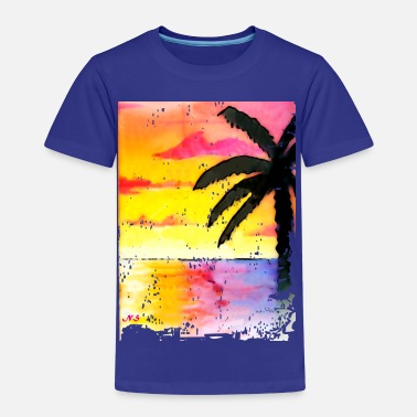 Miami Beach Miami Beach Palm - Kids' Premium T-Shirt