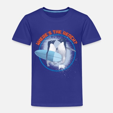 Penguins Animal Planet Surfing Penguins Quote - Kids' Premium T-Shirt