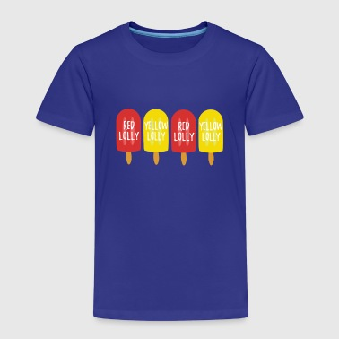 red lolly yellow lolly - Kids' Premium T-Shirt