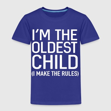 Big Brother I'm the oldest child. I make the rules - Kids' Premium T-Shirt