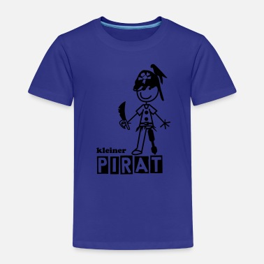 Piraten Kinder kleiner Pirat - Kinder Premium T-Shirt